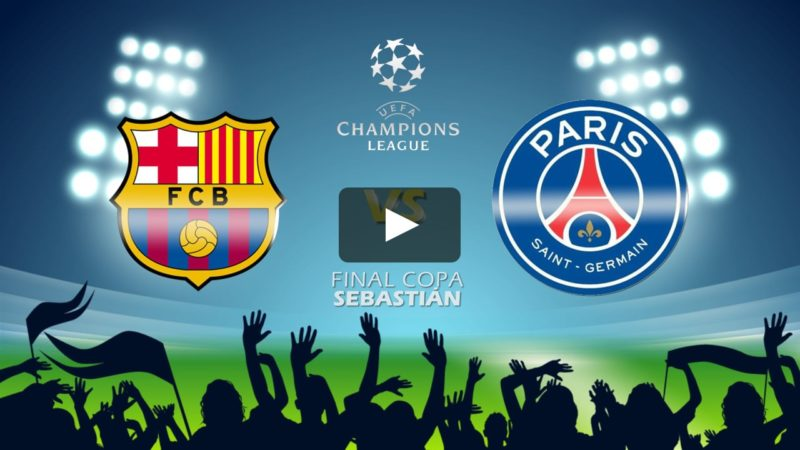 Barcelona vs PSG logos - Top 10 Most Memorable Matches in Champions League History