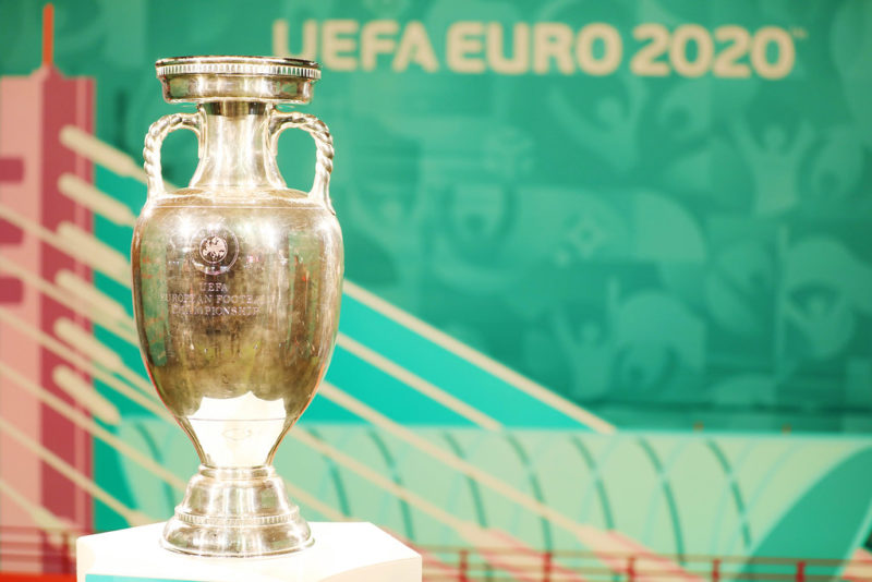 The Euro 2020 trophy - featured image