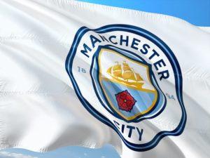 Mancshter City logo 300x225 - Meet the 2020 UEFA Champions League Quarter Finalists