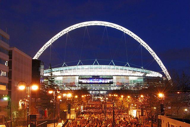 Wembley Stadium from outside