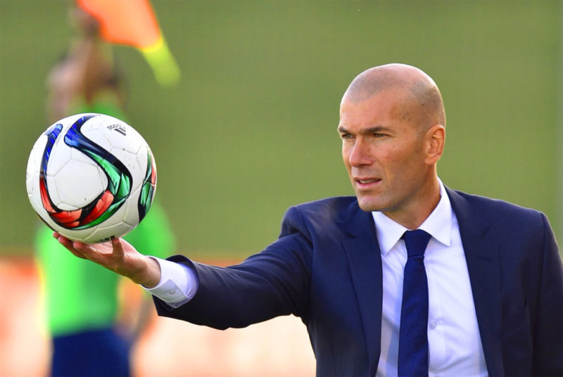 Zinedine Zidane Real Madrid - 10 Straight Wins Lead Real to their 34th La Liga Title