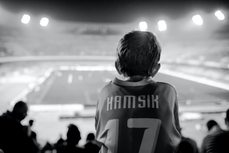 Napoli football fan