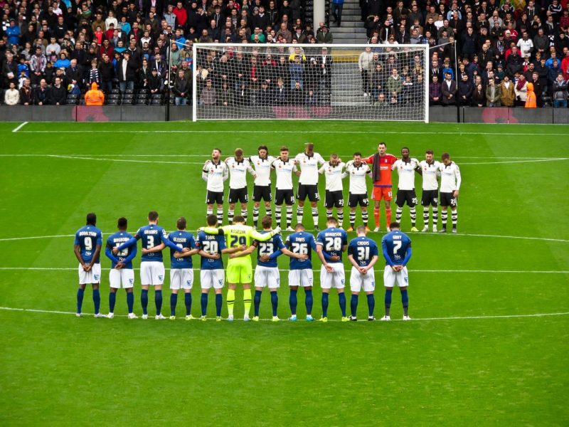 The Start of a Fulham match