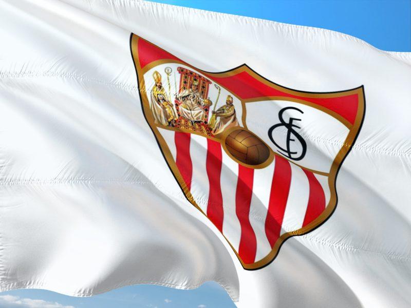 Sevilla team flag