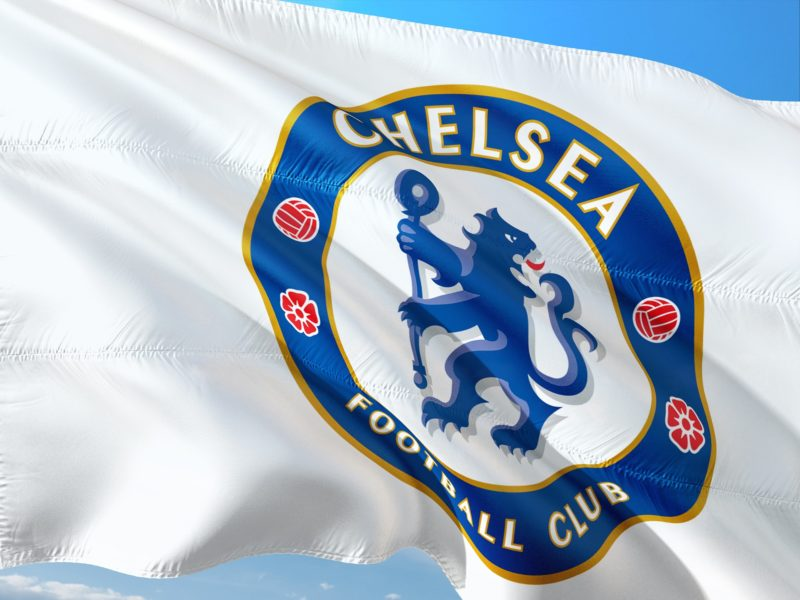 Chelsea's flag in the wind