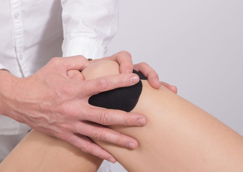 Treating an injured knee