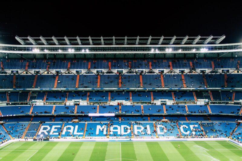 Santiago Bernabéu, the stadium of Real Madrid